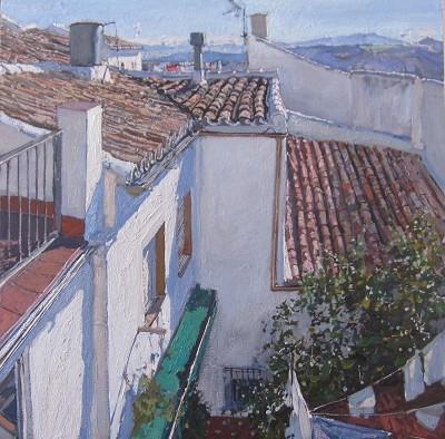 Pueblos Blancos, III by  Daud Akhriev - Masterpiece Online