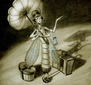 Ms. Fly by  Tony Diterlizzi Prints - Masterpiece Online