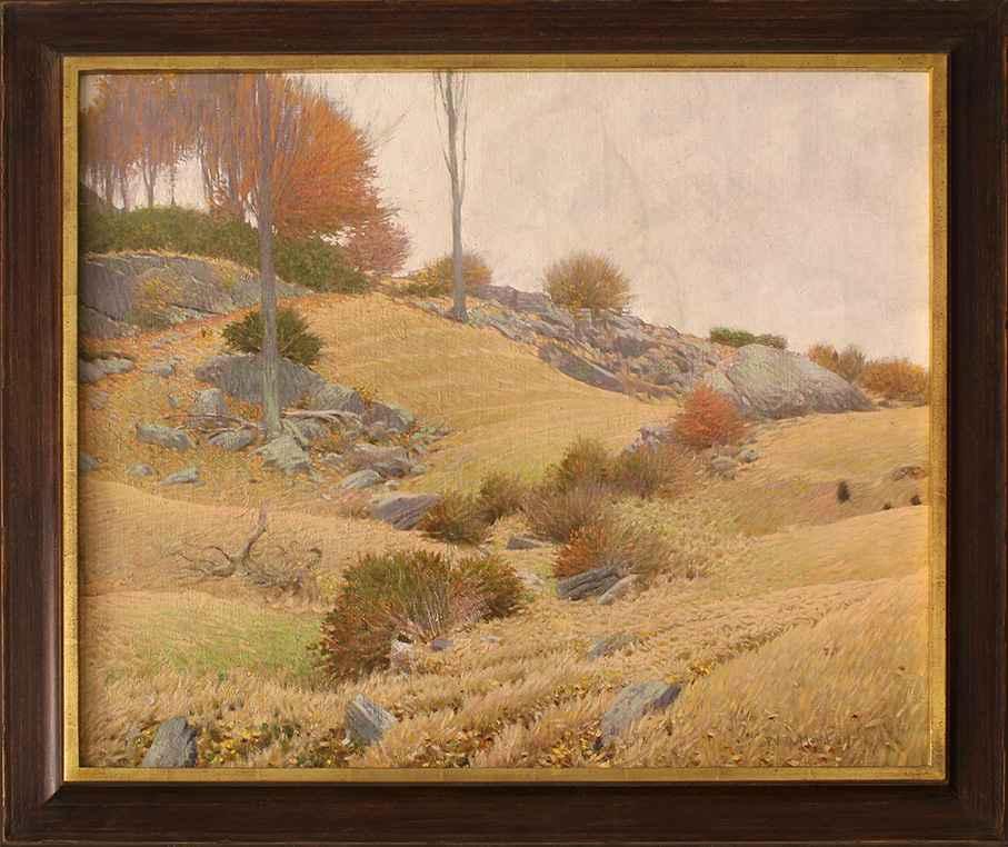 Grassy Hill, Lyme, CT (The Dumond Farm) by Frank Vincent DuMond
