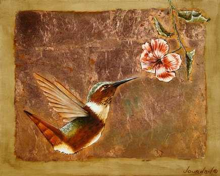 Allen's Hummingbird by  Jourdan Dern Powers - Masterpiece Online