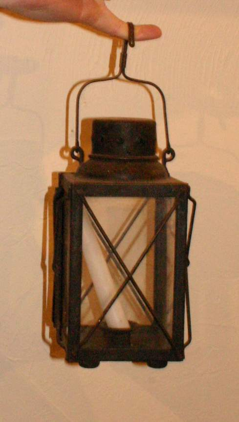 Wrought Iron Lantern by  Antiques  - Masterpiece Online