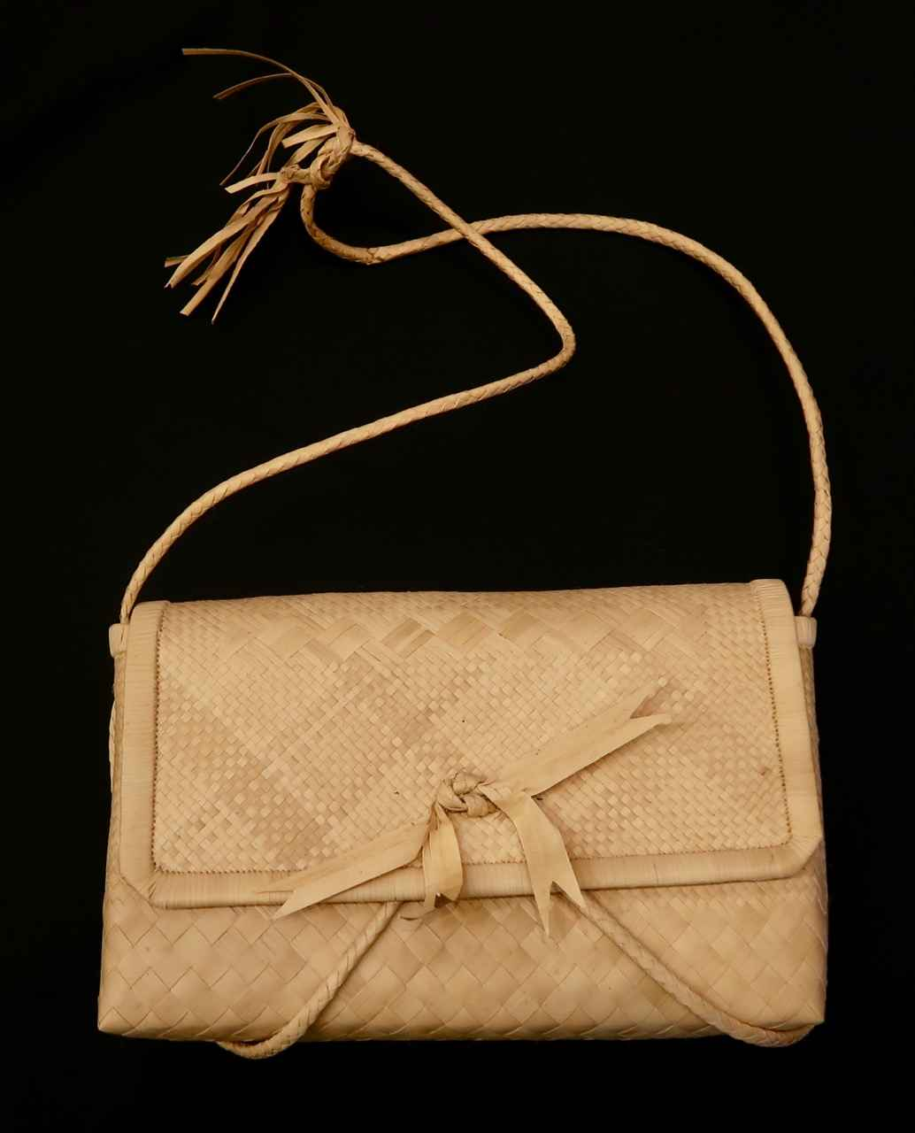 Woven Purse with Ribb... by   Unknown - Masterpiece Online
