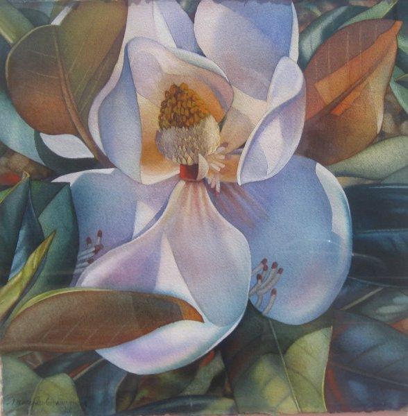 Summer Magnolia by  Nancy Taylor - Masterpiece Online