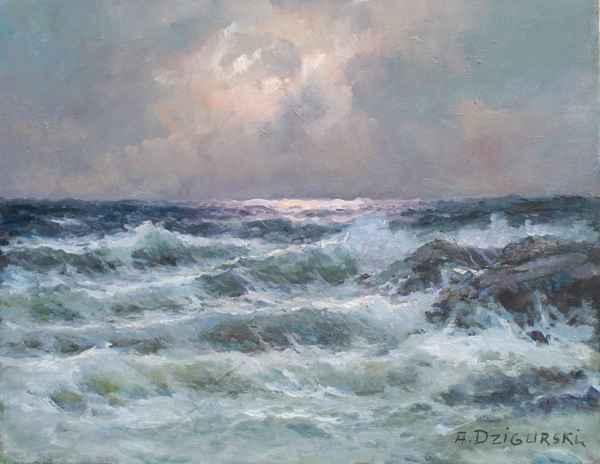Silver Gale by  A. Dzigurski Sr.  - Masterpiece Online