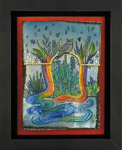 Aboriginal Mythical R... by  Kathleen Wilcox - Masterpiece Online