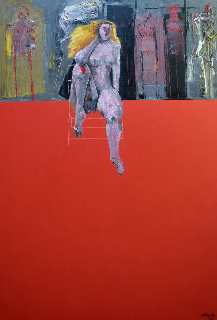 REUNION EN UN CUARTO ... by Mr. VLADIMIR CORA - Masterpiece Online