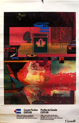 Canada Pavillion 1986... by  Ian Macleod - Masterpiece Online
