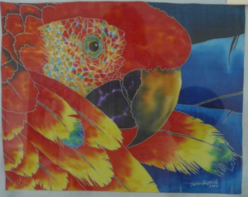 Scarlet Macaw by Mr. Daniel Jean Baptiste - Masterpiece Online