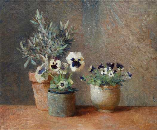 Still Life with Flowe...  by  Charles Weed