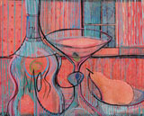 DP-STILL LIFE IN RED by  P. Buckley Moss  - Masterpiece Online