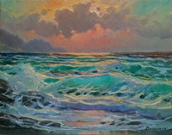 Spanish Bay Tide by  A Dzigurski II - Masterpiece Online