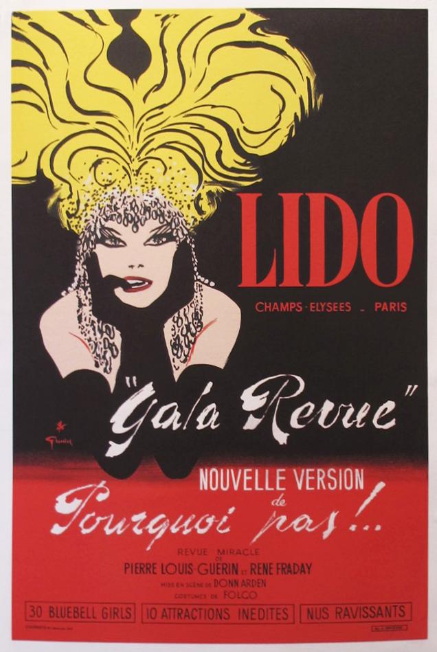 Lido Gala Revue by  Rene Gruau - Masterpiece Online