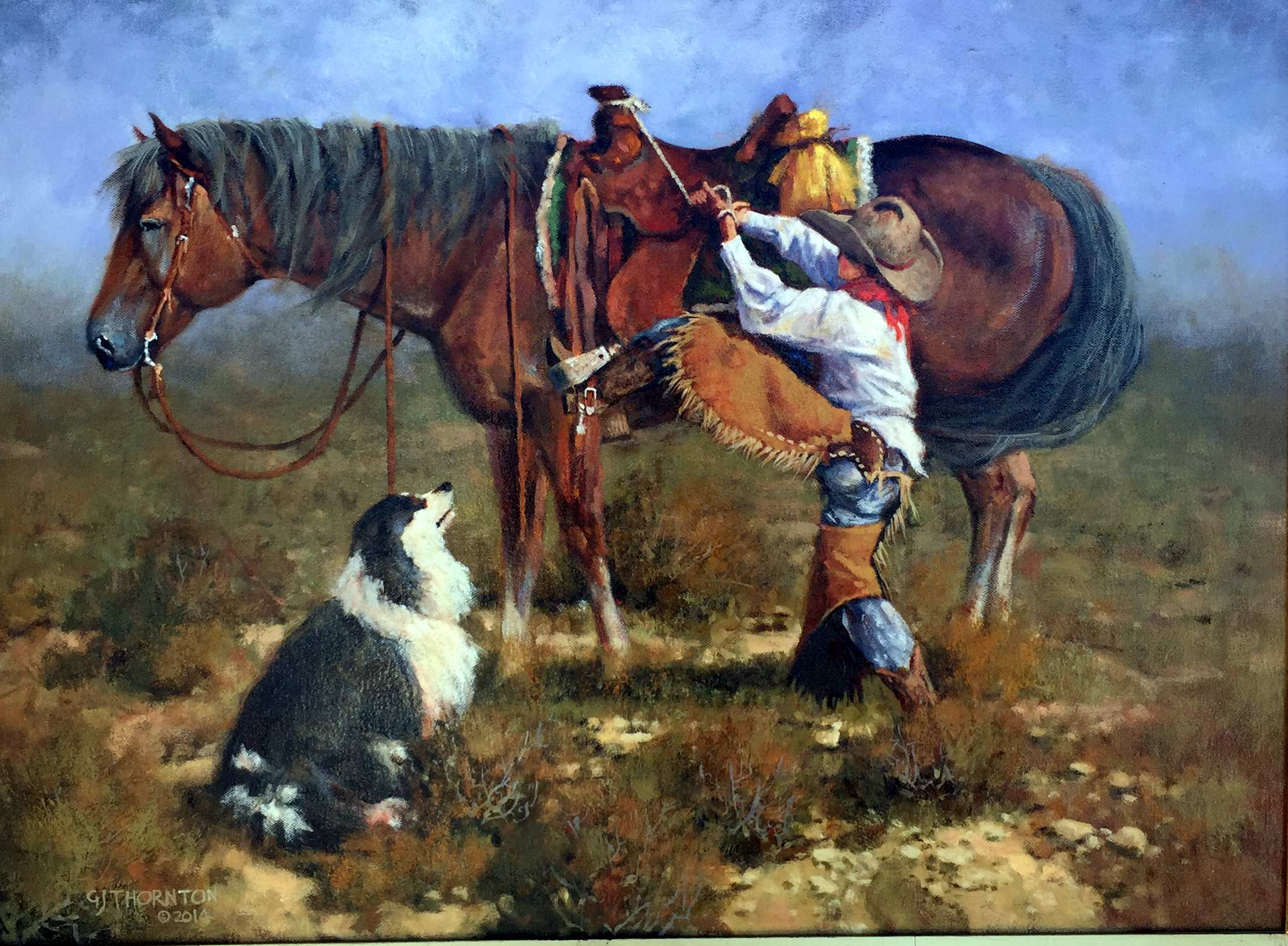 Fixin' To Go To Work by Mr Gary Jack Thornton - Masterpiece Online