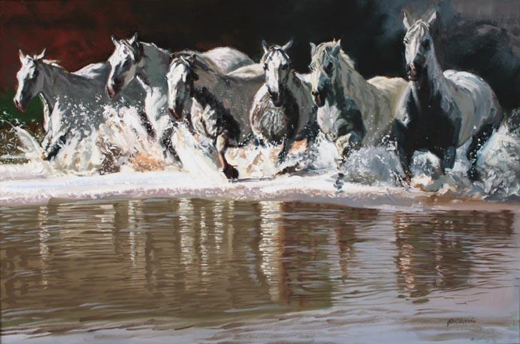 SOLD- White Thunder by  Glen Edwards - Masterpiece Online