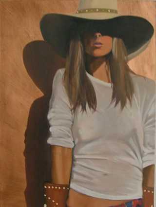 White T Original by  David DeVary - Masterpiece Online