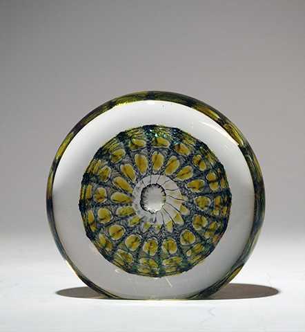 Paperweight/Yellow by  Thomas Philabaum - Masterpiece Online