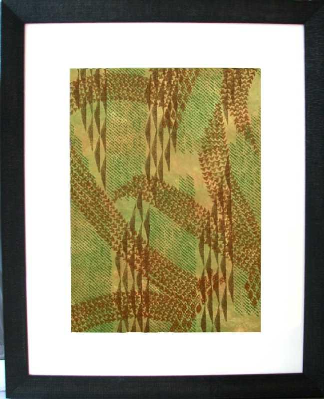 4 Seas Green Kapa by  Moana Eisele - Masterpiece Online