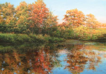 Autumn Reflections, B... by  Michael Wheeler - Masterpiece Online
