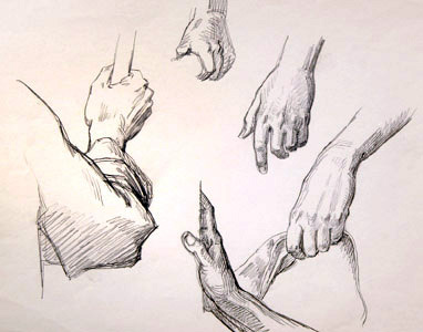 Five Hands  by  Andren And Olga Dugin