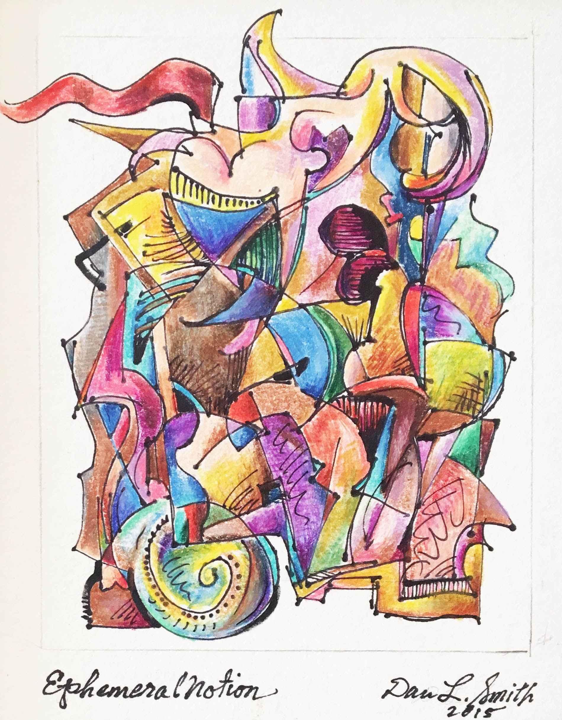 Ephemeral Notion  by  Daniel L. Smith
