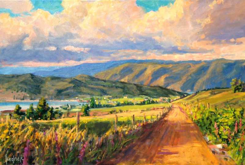 Beaver Lake Descent by  Ron Hedrick - Masterpiece Online