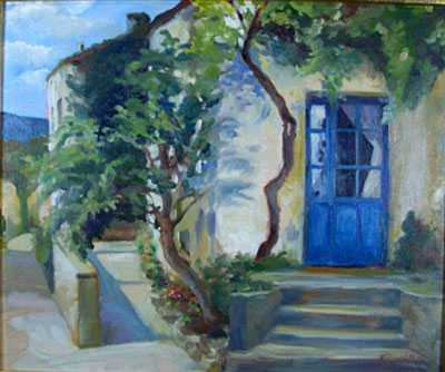 La Porte Blue by MS Nancy Dunlop Cawdrey - Masterpiece Online