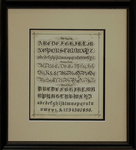 Victorian calligraphy... by   Anonymous - Masterpiece Online