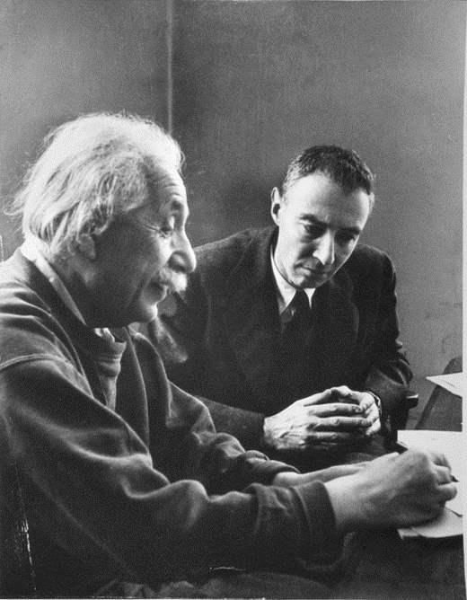 Albert Einstein and J... by  Alfred Eisenstaedt - Masterpiece Online