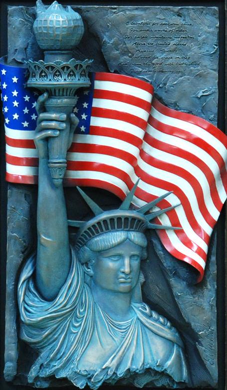 America by  Bill Mack - Masterpiece Online