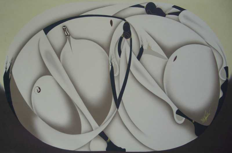 Abstract by  Haitian Fine Art  - Masterpiece Online