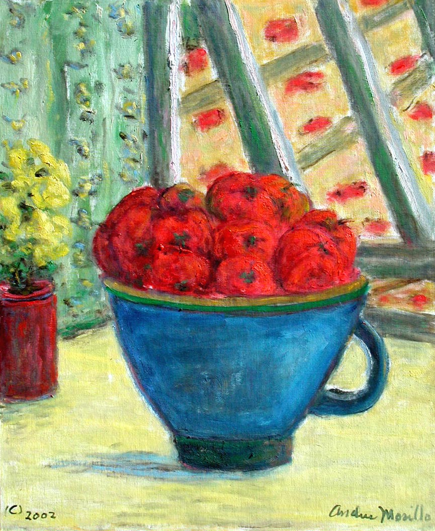 Tomatoes in a Bowl by  Andres  Morillo - Masterpiece Online