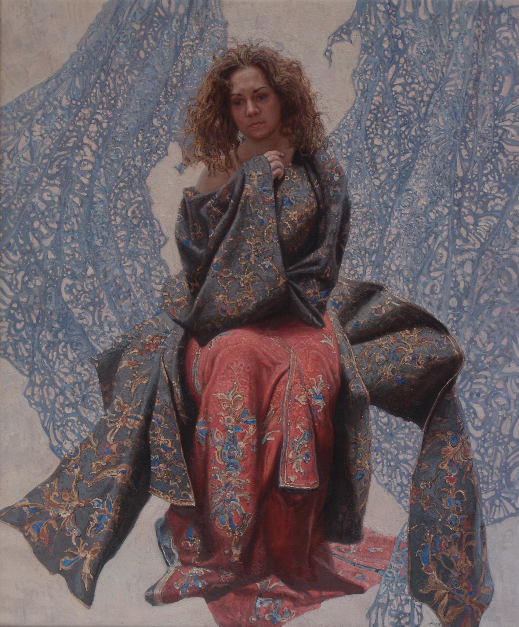 Alexandra (Contemplat... by  Daud Akhriev - Masterpiece Online