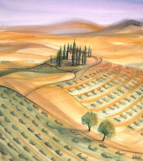 DP-VILLA, THE by  P. Buckley Moss  - Masterpiece Online