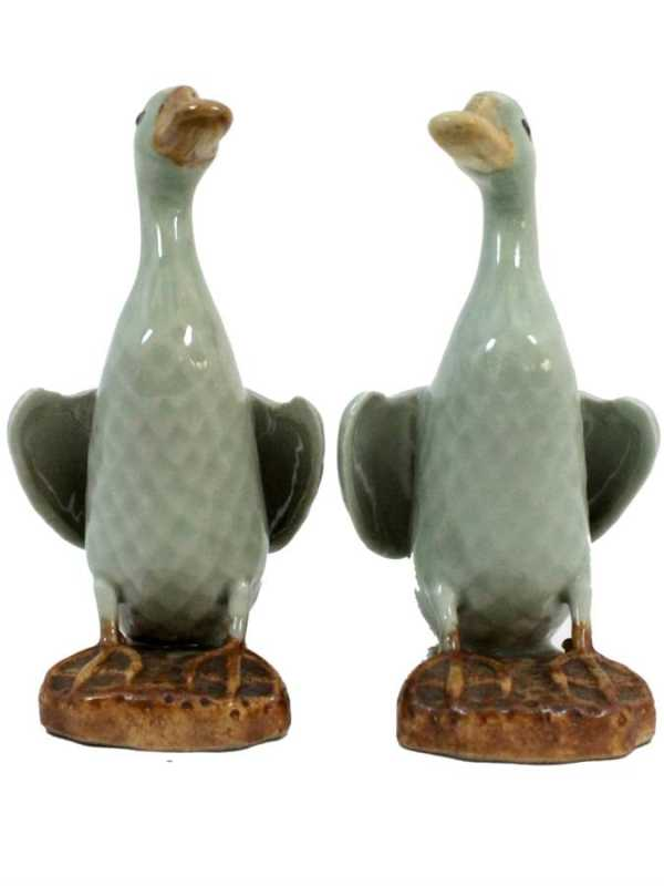 Pair of Mud Ducks by  Chinese  - Masterpiece Online