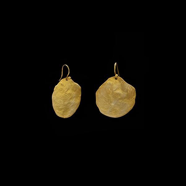 La Mer Wire Drop Earrings