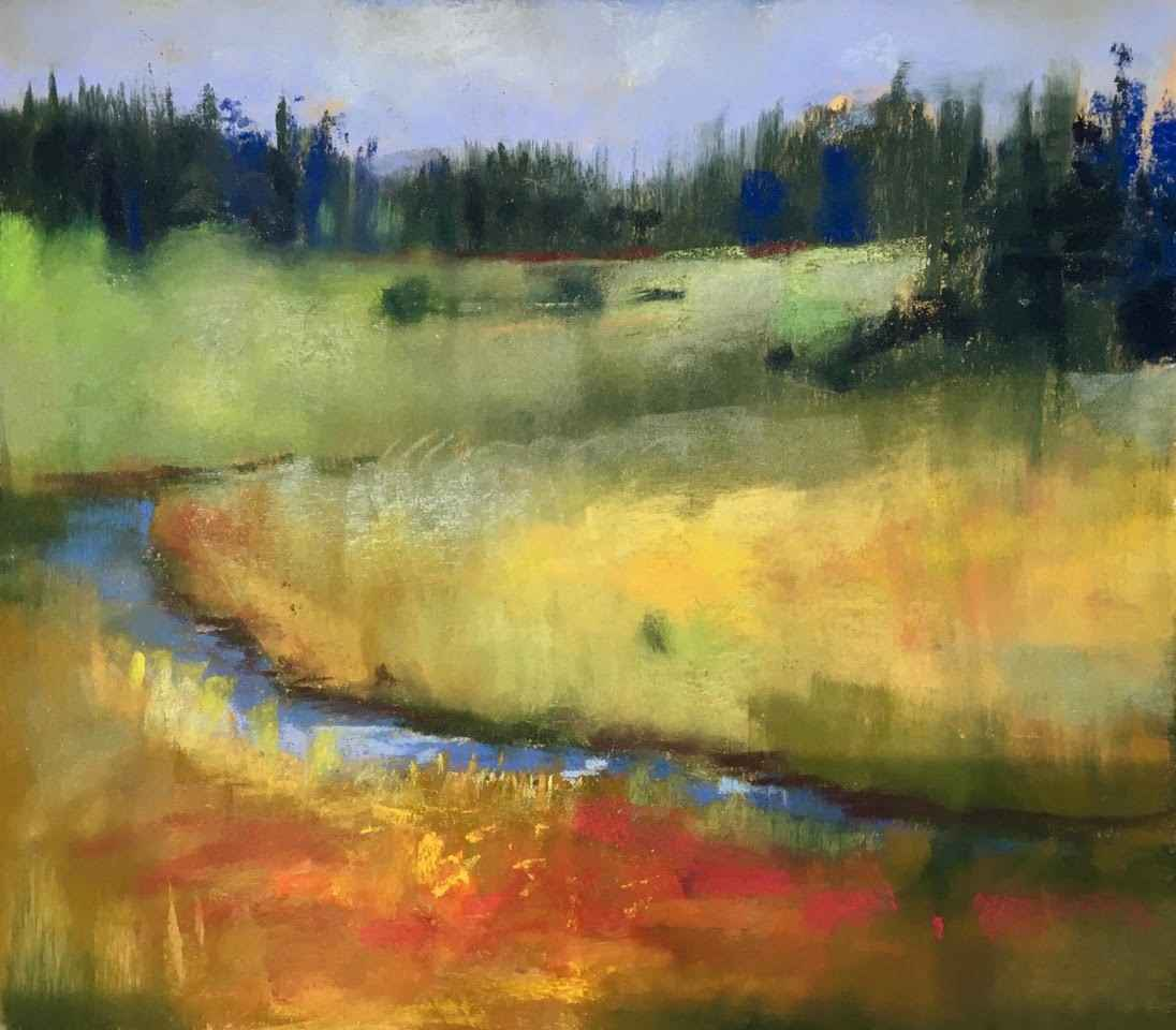 River and Trees by  Carol Rowan - Masterpiece Online