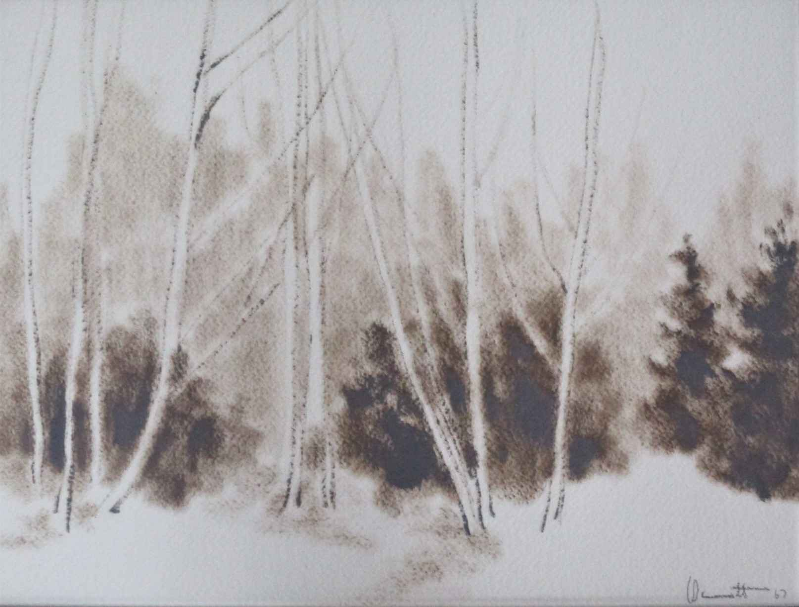 Untitled ( trees ) by  Eugene Bennett - Masterpiece Online