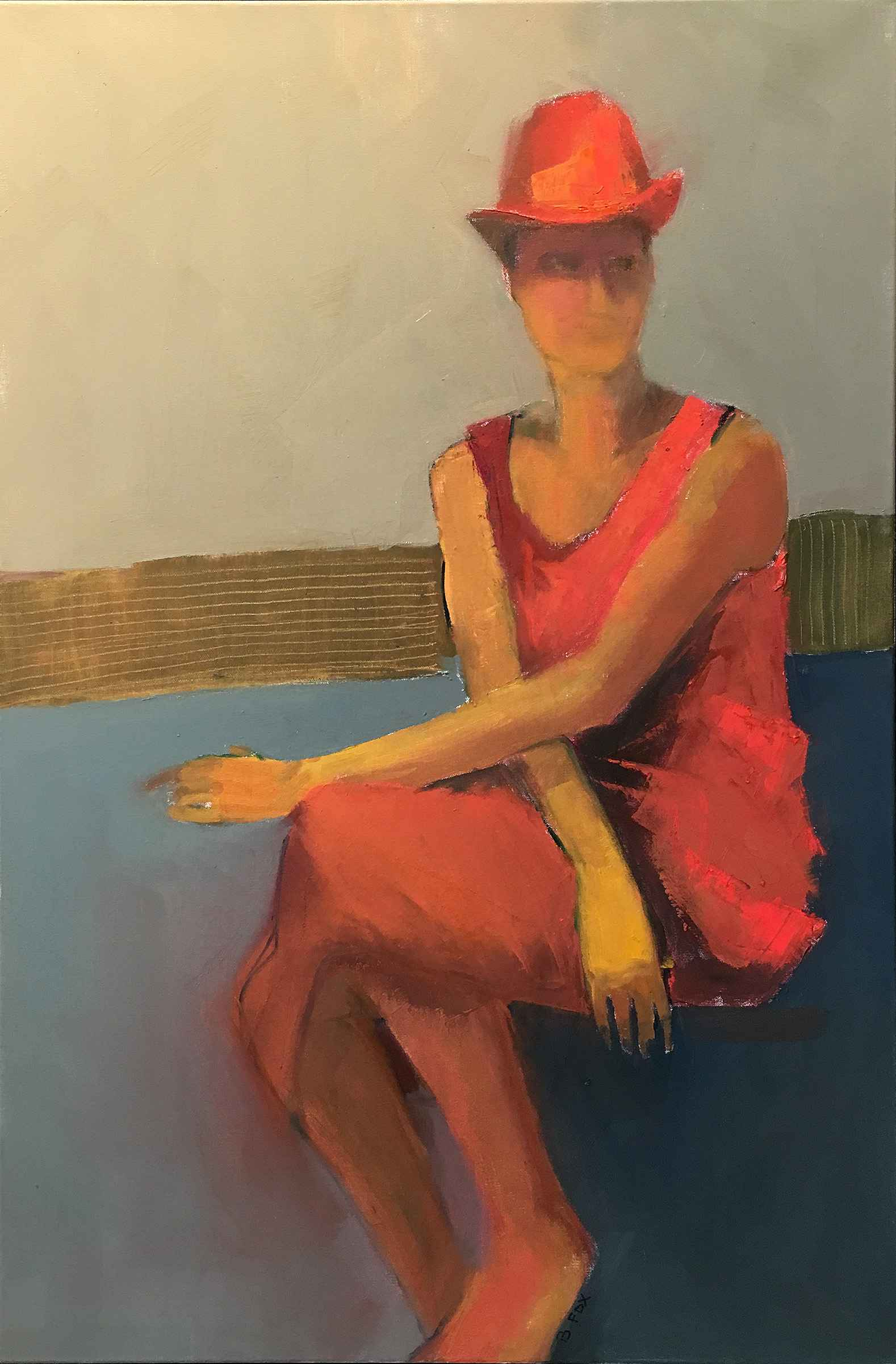 All in Red by  Brenda Fox - Masterpiece Online