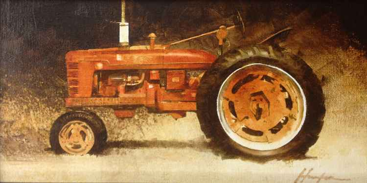Farmall Red (Study) by  Charlie Hunter - Masterpiece Online