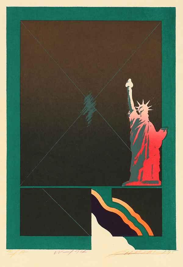 *Statue of Liberty by  Akira Kurosaki - Masterpiece Online