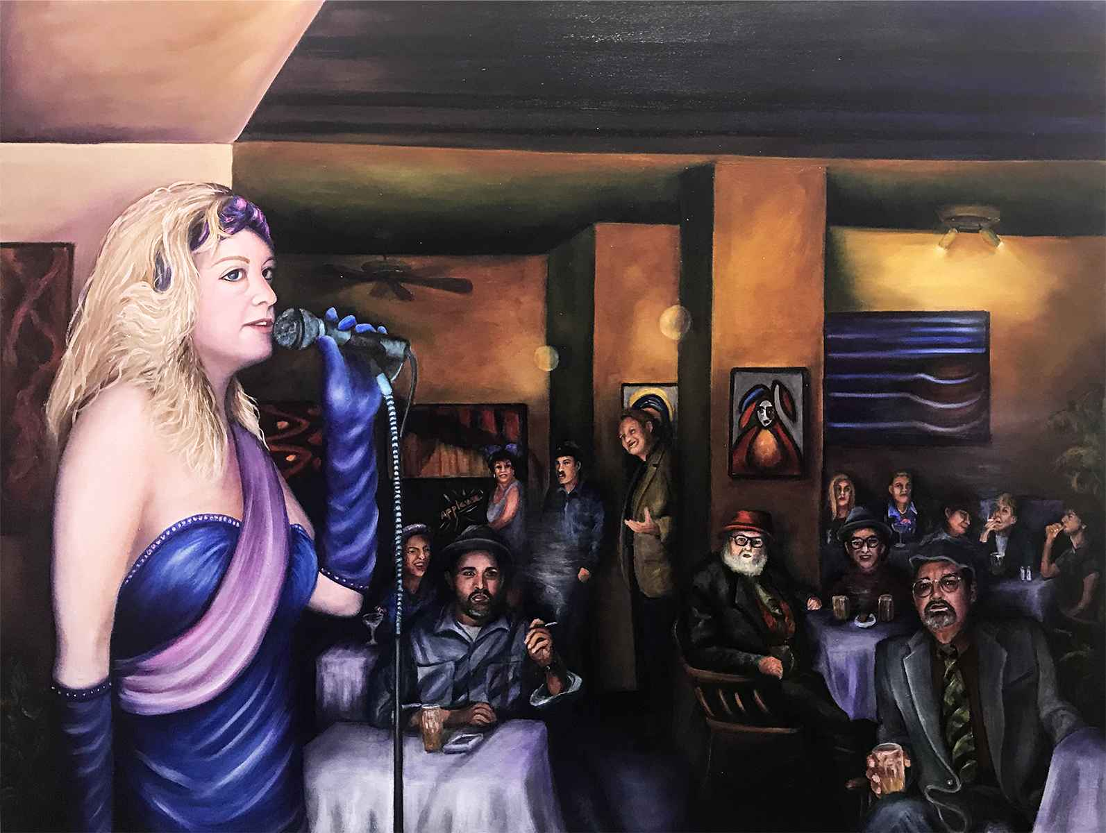 Beats, Bohemians, and... by  Colleen Kassner - Masterpiece Online