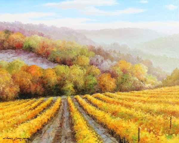 Valley Mist by  Soon Ju Choi  - Masterpiece Online