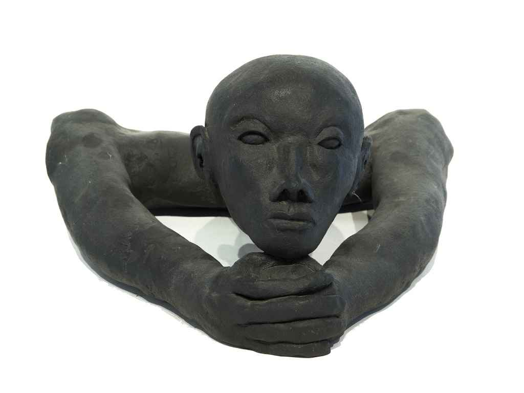 Untitled Head and Arm...  by  Helen Post