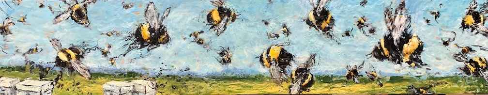 Bees Forever by  Kathy Bradshaw - Masterpiece Online