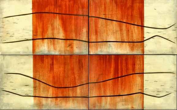 Wood/Stone 1  by  Robert Douglas