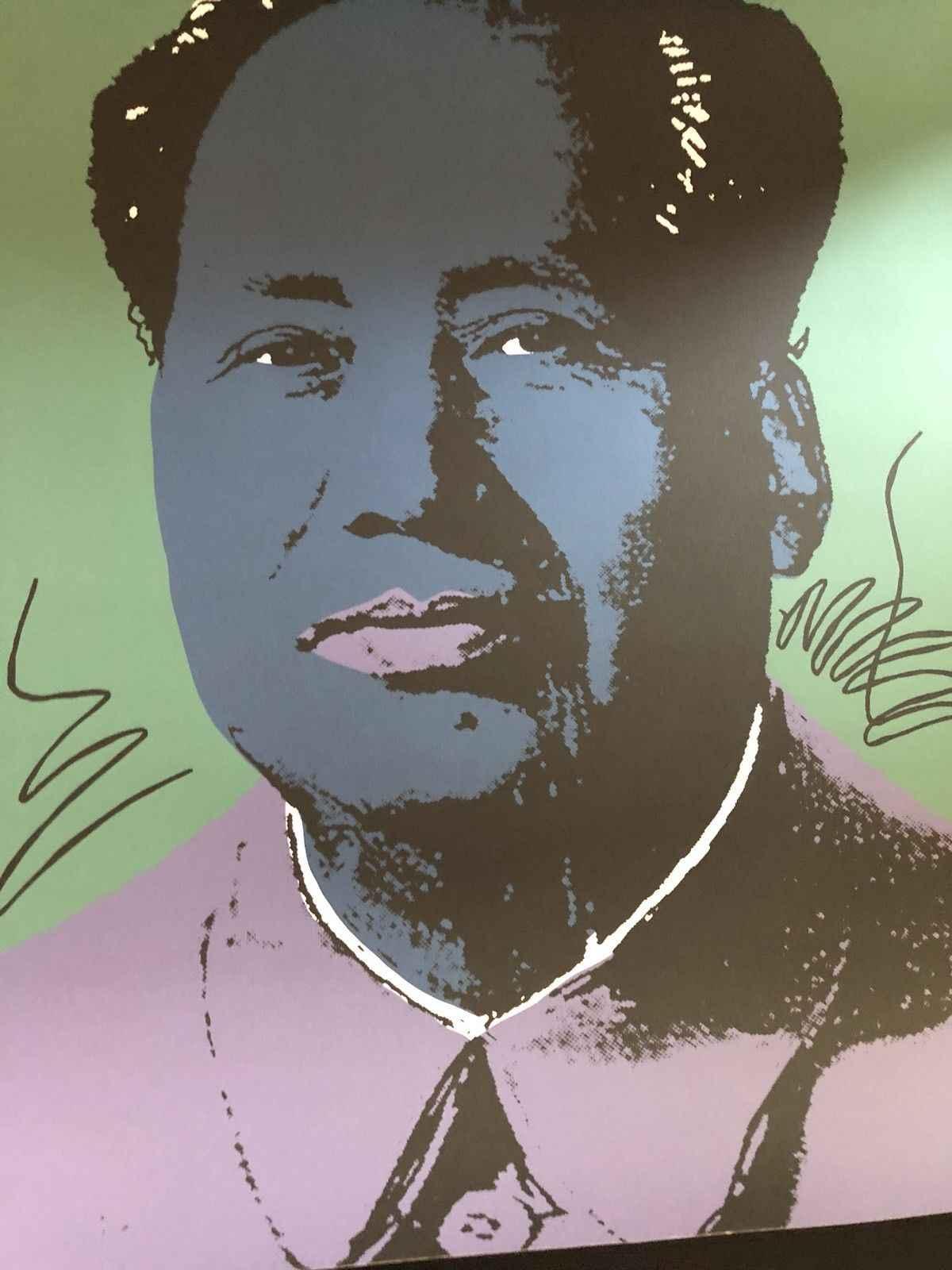 Mao (Purple) by  Andy Warhol - Masterpiece Online