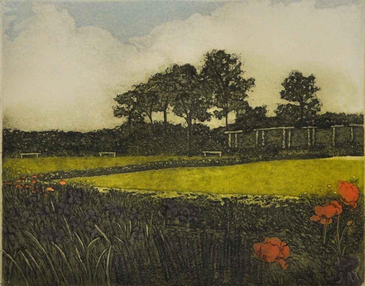 Garden Walk II State by  Susan Baehmann - Masterpiece Online