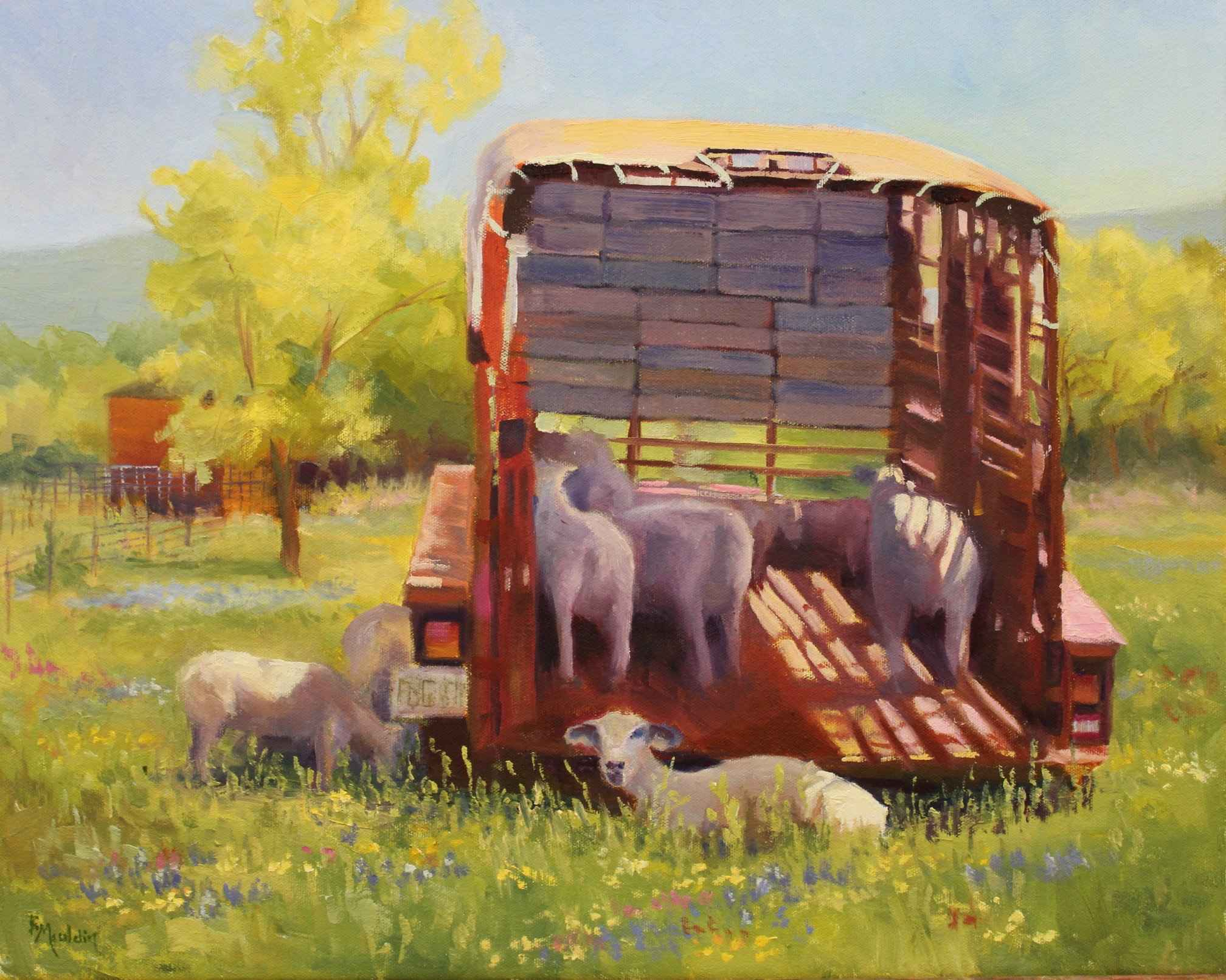 Mobile Home by  Barbara Mauldin - Masterpiece Online
