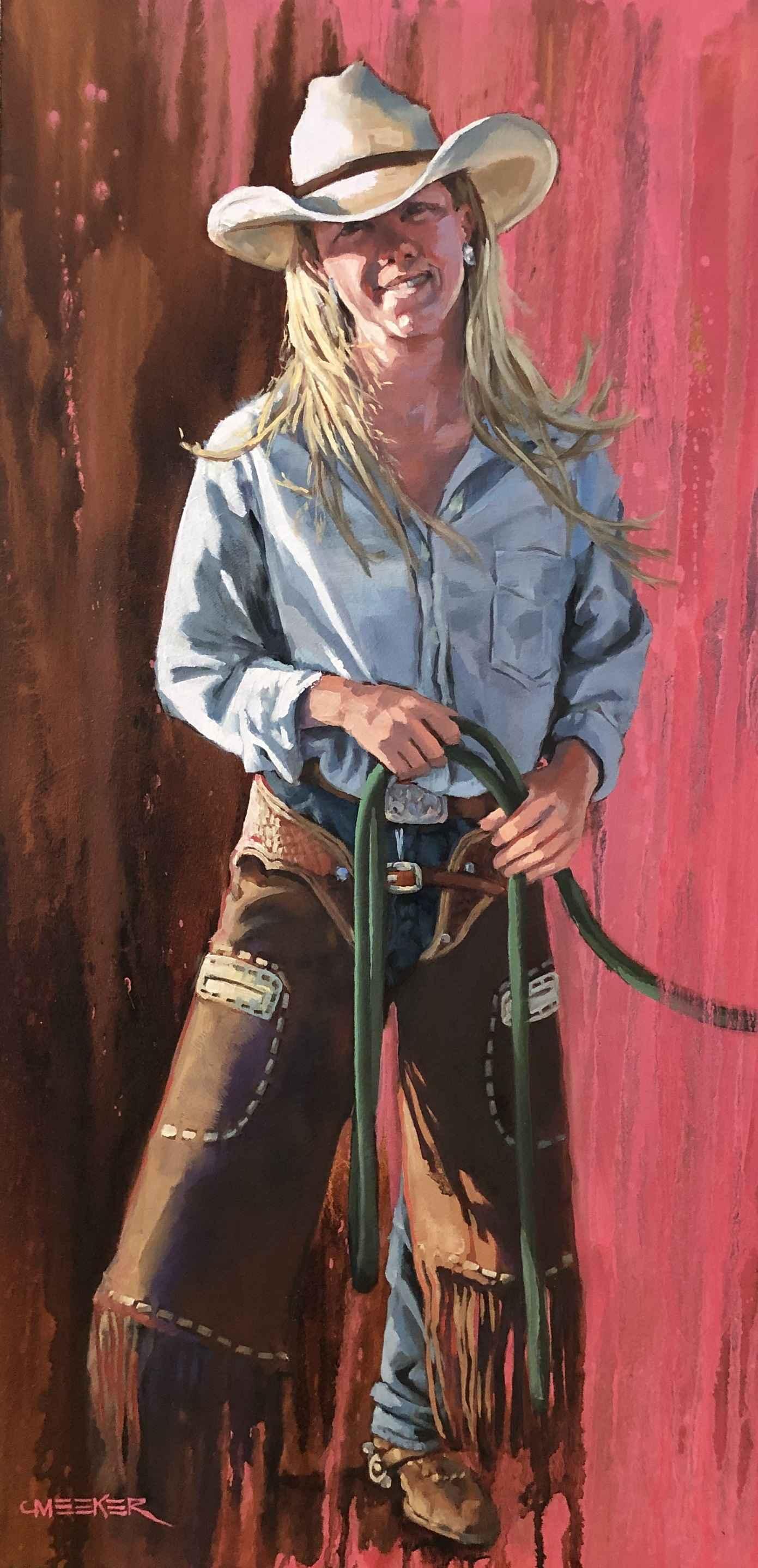 In The Pink by  JoAnne Meeker - Masterpiece Online
