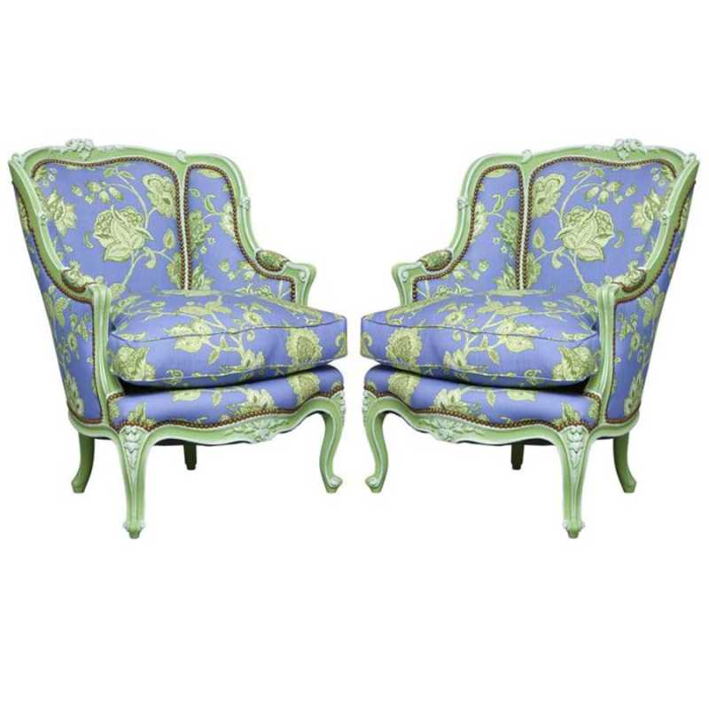Pair of Painted Louis... by  French  - Masterpiece Online